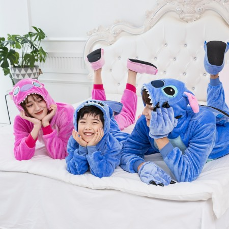 Enjoyable Stitch Onesie Family Matching Costume Onesie For Women Men Pajamas Halloween Outfit Ibusinesslaw Wood Chair Design Ideas Ibusinesslaworg
